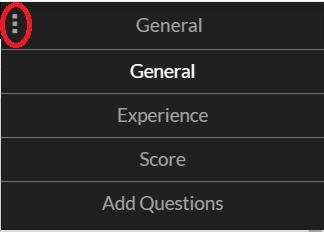 quiz options