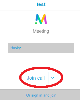 How do I join a Cisco Meeting Server (WebRTC) conference